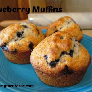 The Best Blue Berry Muffins.