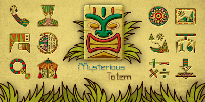 Screenshot of Mysterious Totem GO Theme