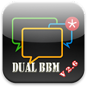Dual BBM V2.6 New Free Sticker