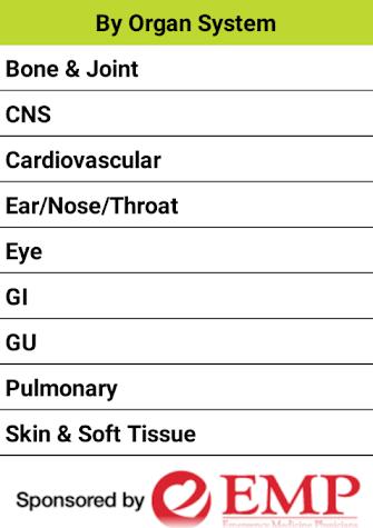 2015 EMRA Antibiotic Guide Screenshot