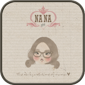 nanageol go launcher theme