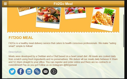 FIT2GO MEAL