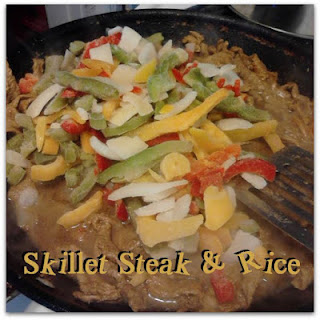 Dinner in Five Ingredients - Skillet Steak and Rice
