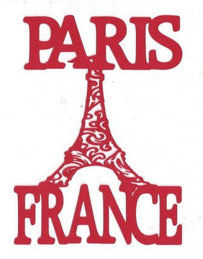 Paris Word Wallpaper