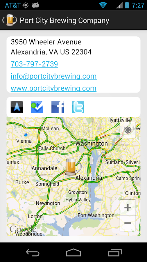 theCompass Winery Brewery App - screenshot