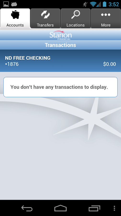 Starion Financial Mobile - screenshot