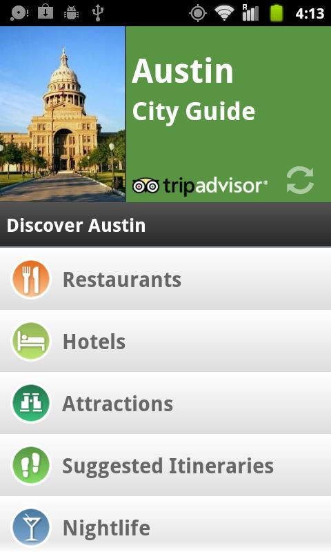 Austin City Guide screenshot #1
