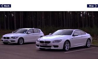 Screenshot of Explore BMW ConnectedDrive