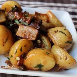 Roasted Wild Mushrooms & Potatoes