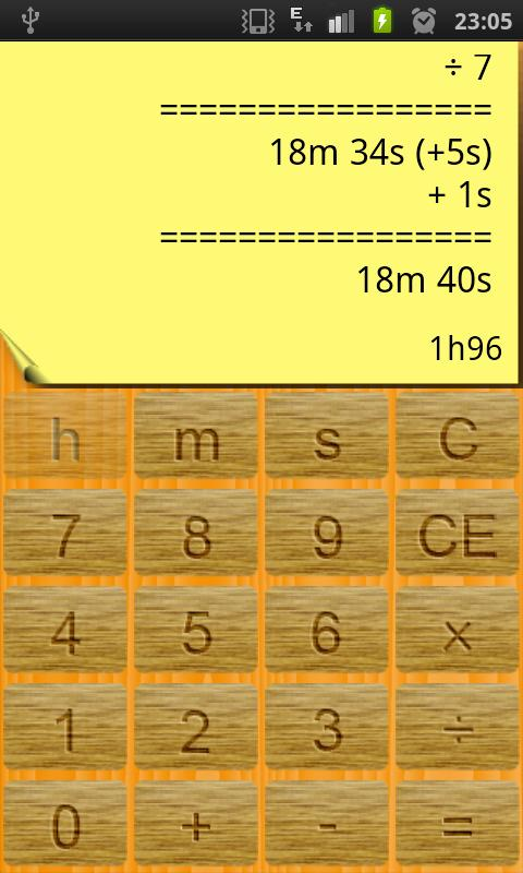Time Calculator- screenshot