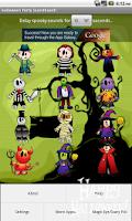 Screenshot of Halloween Party Sound Lite