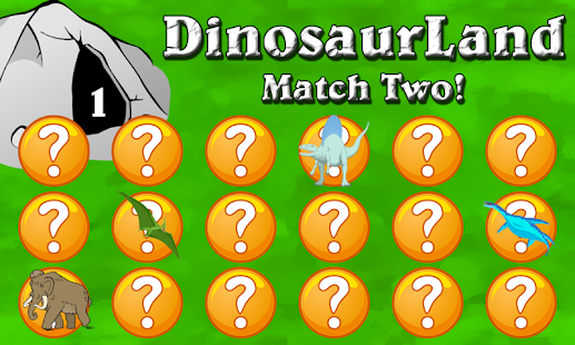 Dinosaur Land - Match Two FREE