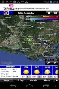 WAFB 9 Storm Team Weather - screenshot thumbnail