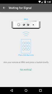 IRKit Simple Remote- screenshot thumbnail