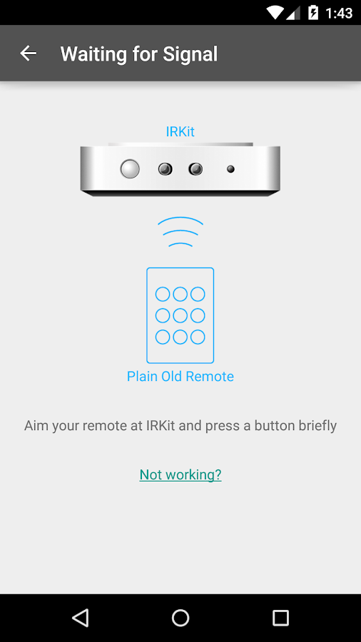 IRKit Simple Remote- screenshot