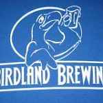 Logo of Birdland Brewing Blue Bird Choc/Blue Porter
