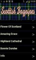 Screenshot of Scottish Bagpipes Free