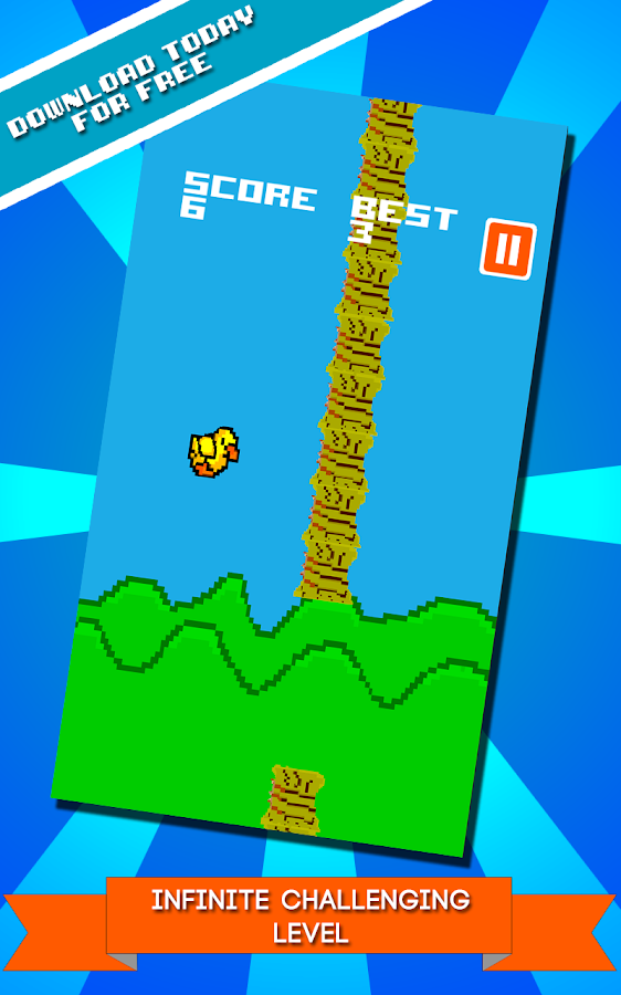 Flappy Duck - screenshot