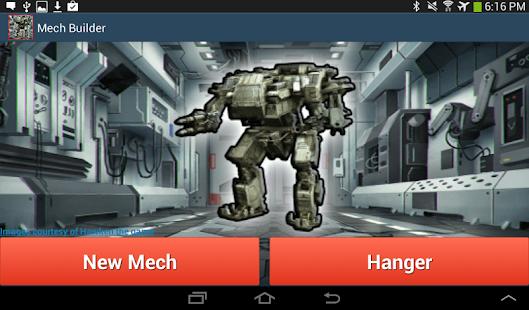Mech Robot Warrior Builder