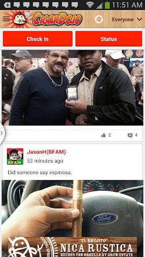CigarDojo the social cigar app