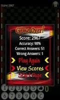 Screenshot of Math Cruncher