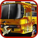 Crazy Bus Mechanic Garage icon