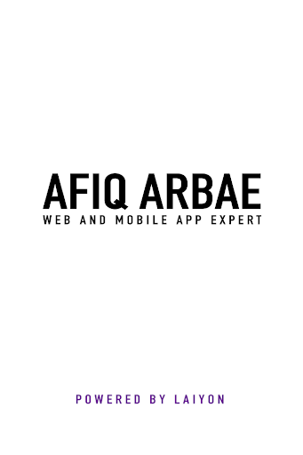 Afiq Arbae
