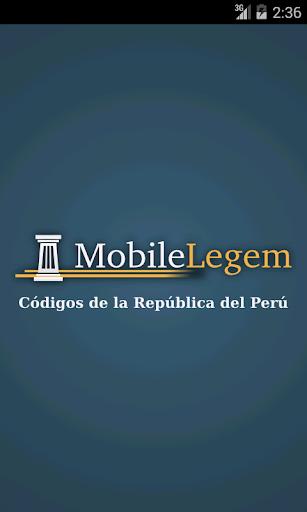 Mobile Legem - Perú