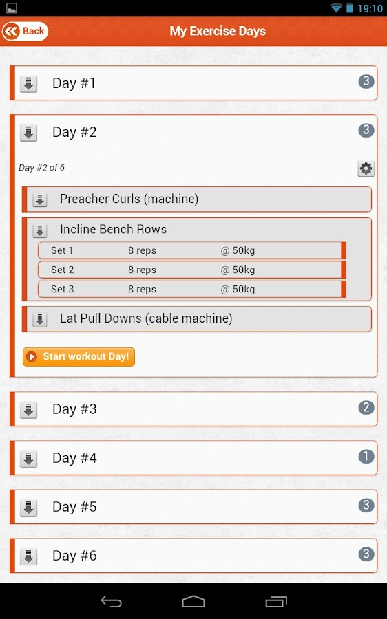 ThinkFit Gym / Workout Planner - screenshot