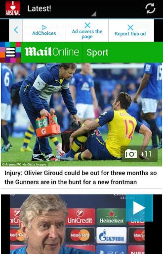 Arsenal Latest News Updates