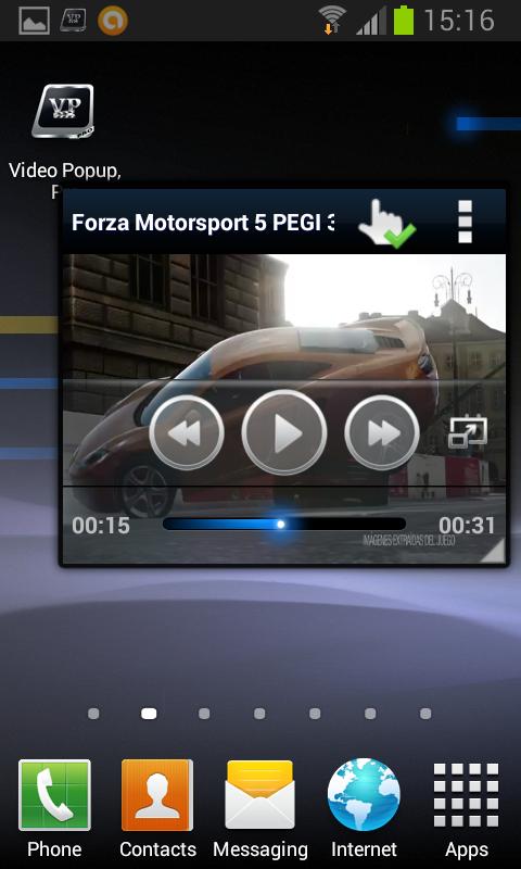 Video Popup, Pro - screenshot