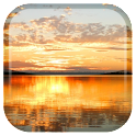 Sunset Lake Live Wallpaper