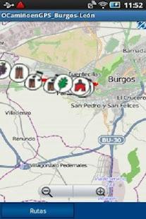 OCamiñoenGPS_Burgos-León - screenshot thumbnail
