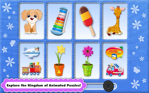 Toddler & Baby Animated Puzzle- screenshot thumbnail