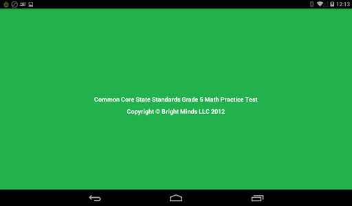 Common Core Grade 5 Math Lite