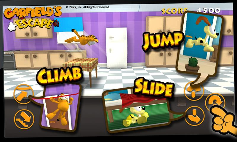 Garfield's Escape Premium- screenshot