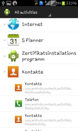 Activity Launcher 1.7.0 screenshots 2