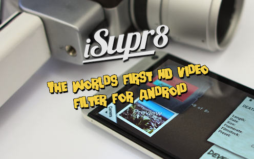 iSupr8 Vintage Video Camera - screenshot thumbnail