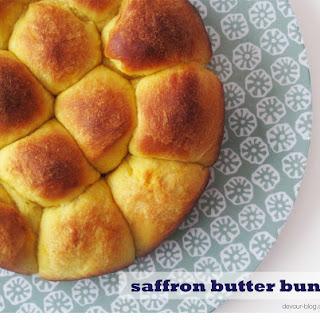 Saffron Butter Buns