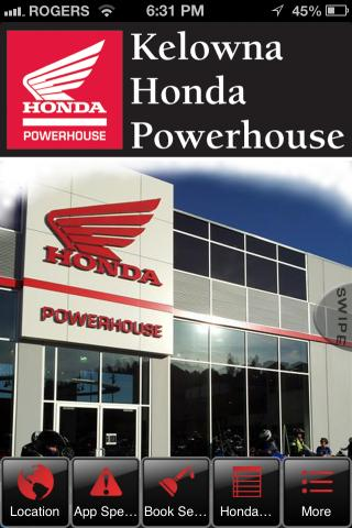 Kelowna Honda Powerhouse - screenshot