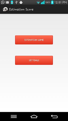 Estimation Score