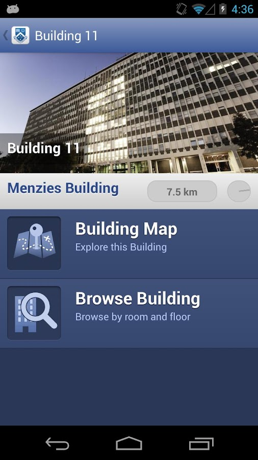 Monash University - screenshot