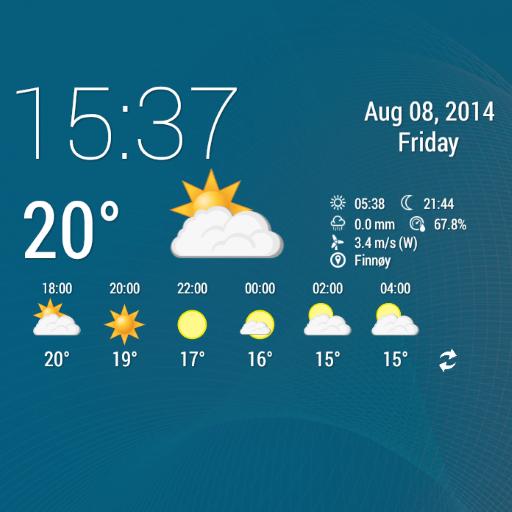 Simple Time & Weather Widget LOGO-APP點子