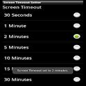 Screen Timeout logo