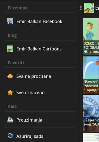 Emir Balkan Cartoons- screenshot