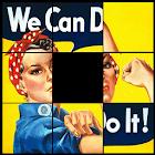 Vintage Posters Sliding Puzzle icon