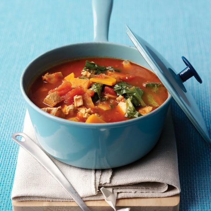 Chunky Turkey-Vegetable Soup Recipe