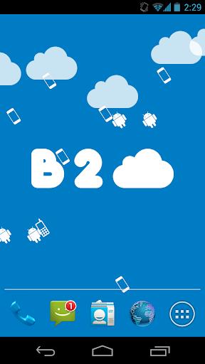 b2cloud Live Wallpaper