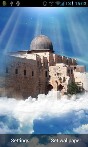 Al Aqsa Mosque Live Wallpaper