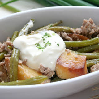 Hamburger Cream Of Mushroom Green Beans Recipes.